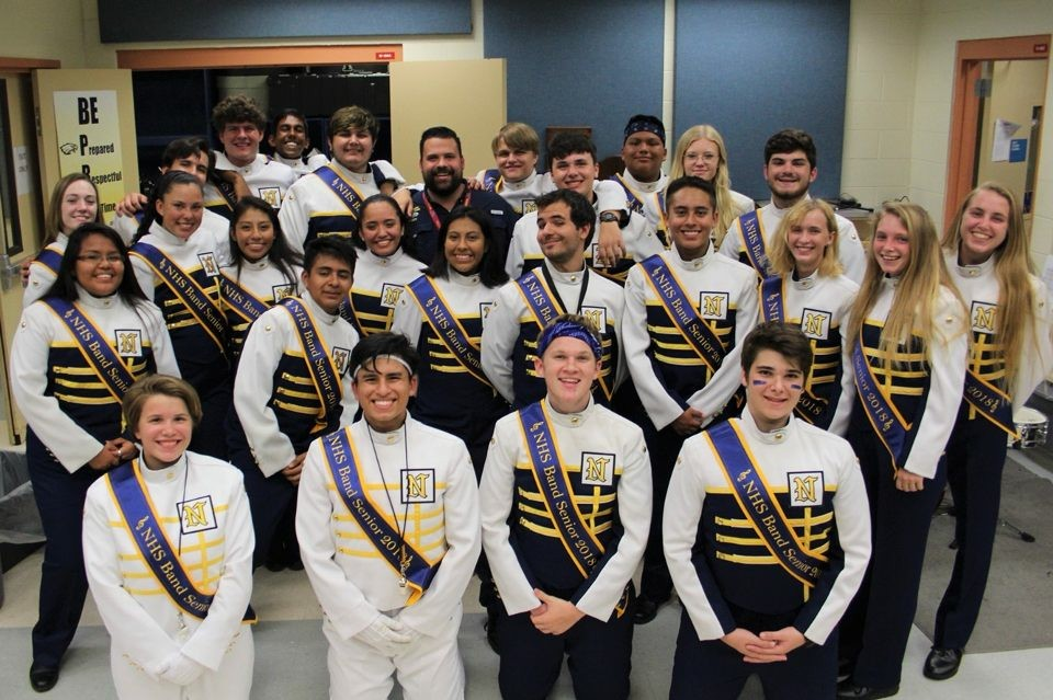 Naples High Marching Band Senior Band Night - NHS Talon ...